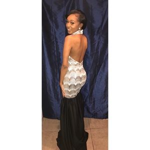 Custom ball gown